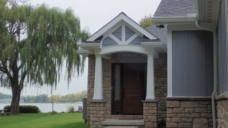 Attractive Entry Porch garners attention