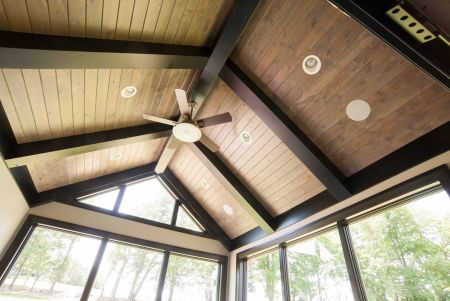 Sunroomn ceiling