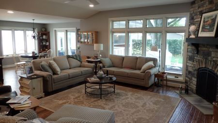 Family Room opens to Dining